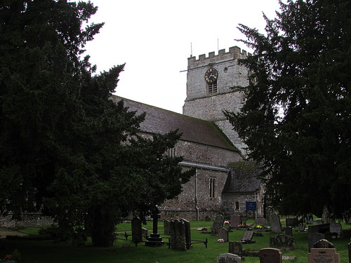 Cranborne Church