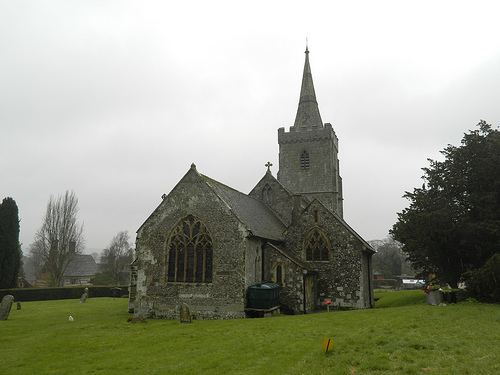 Iwerne Minster Church