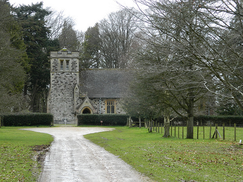 Kingston Lacy Church