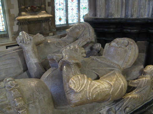Beaufort tomb, Wimborne Minster